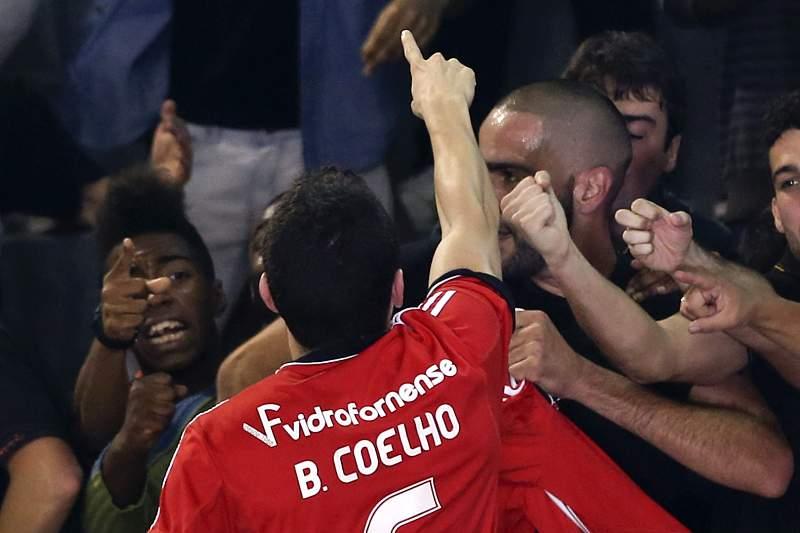 Bruno Coelho, futsal Benfica