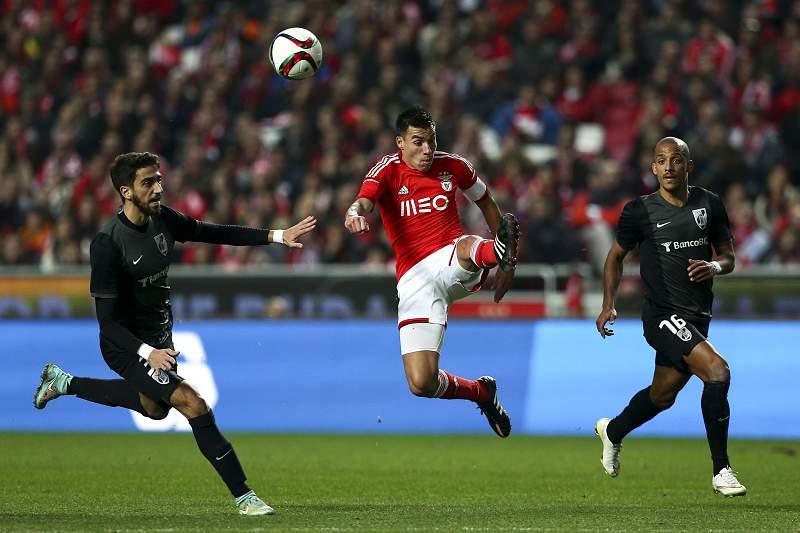Gaitán contra o V. Guimarães