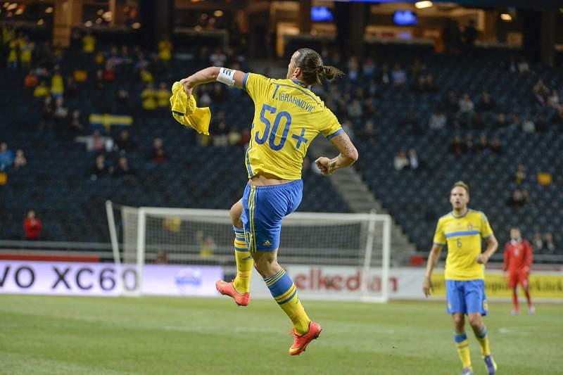 Ibrahimovic marca no encontro da Suécia contra a Estónia