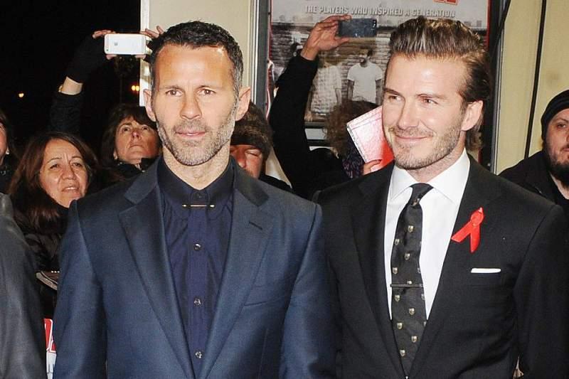 Giggs e David Beckham