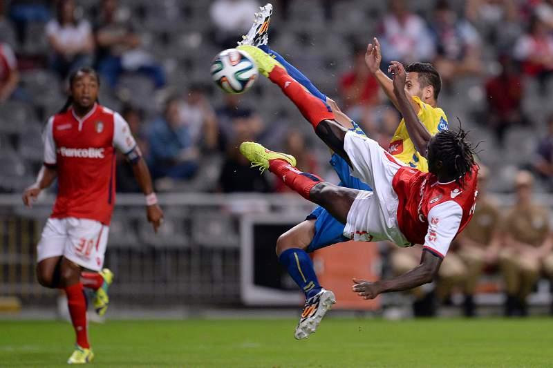 Éder fez um golaço na vitória do Braga sobre o Estoril