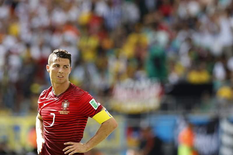 Ronaldo deixa mais cedo o treino