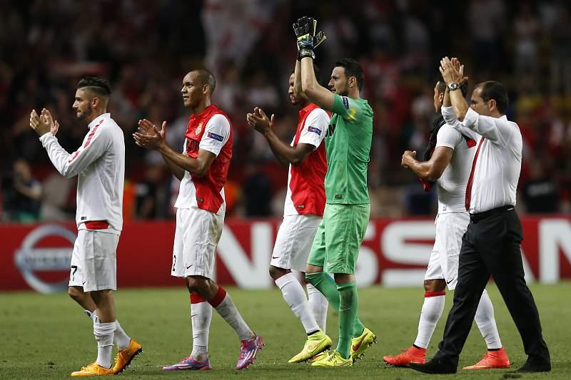 Leonardo Jardim festeja vitória do Monaco na Champions