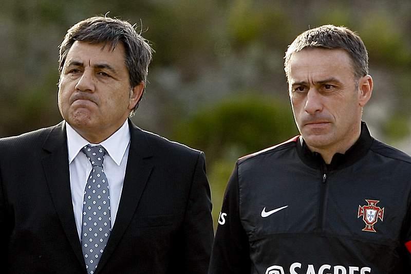 Fernando Gomes e Paulo Bento