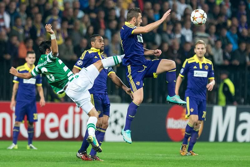 Sporting e Maribor empatados ao intervalo