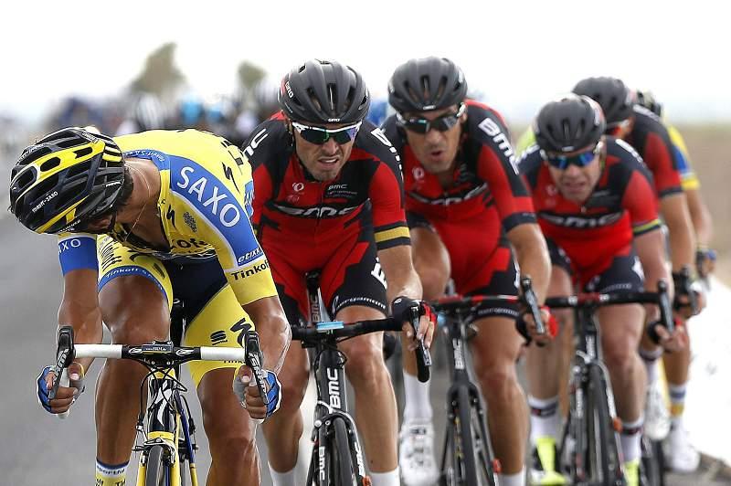 Equipa BMC na Volta a Espanha deste ano