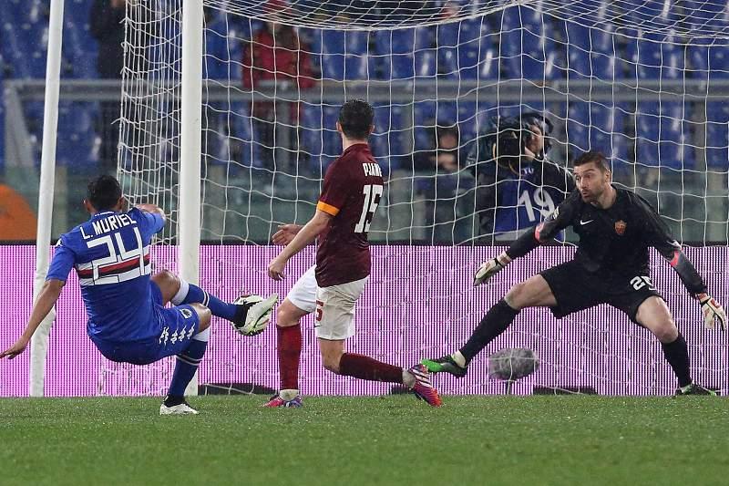 AS Roma 0-2 Sampdoria