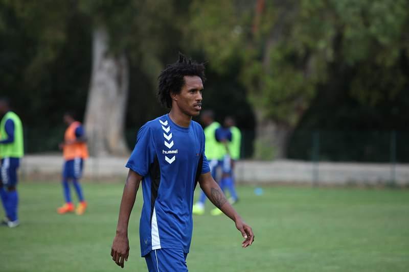 Kuca, jogador da Seleção de Cabo Verde