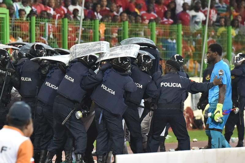 Incidentes Guiné Equatorial - Gana
