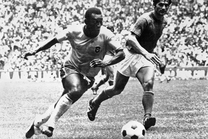 Mundial 1970: Brasil de Pelé alcança o