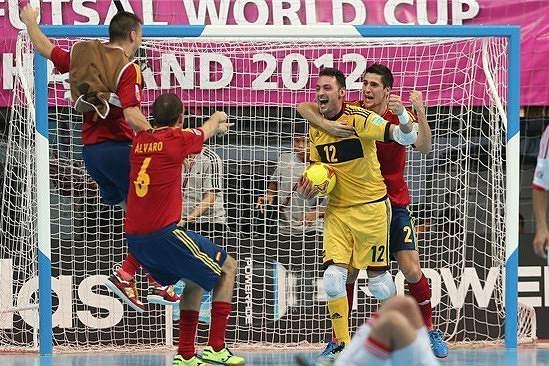 Guarda-redes espanhol Juanjo reforça equipa de futsal do Benfica