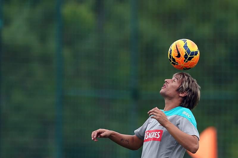 Treino da seleção portuguesa de futebol