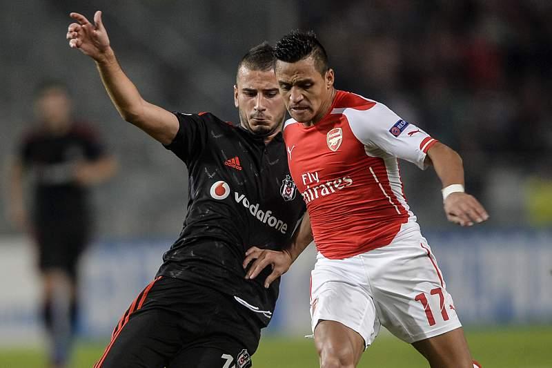 Alexis Sanchez não conseguiu marcar na Turquia