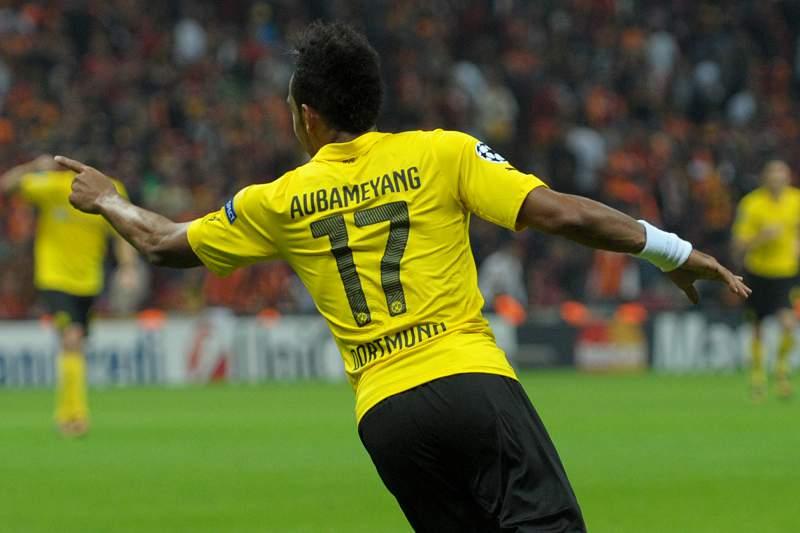 Pierre-Emerick Aybameyang, avançado do Dortmund