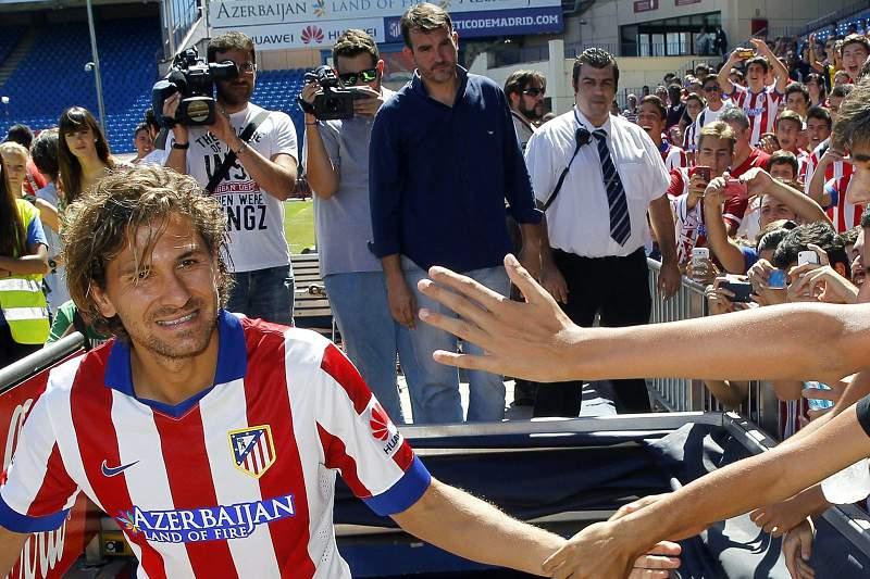 Apresentação de Alessio Cerci no Atlético de Madrid