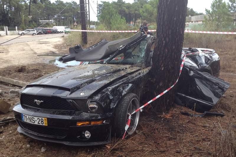 Franco Jara tem acidente de viação na Aroeira