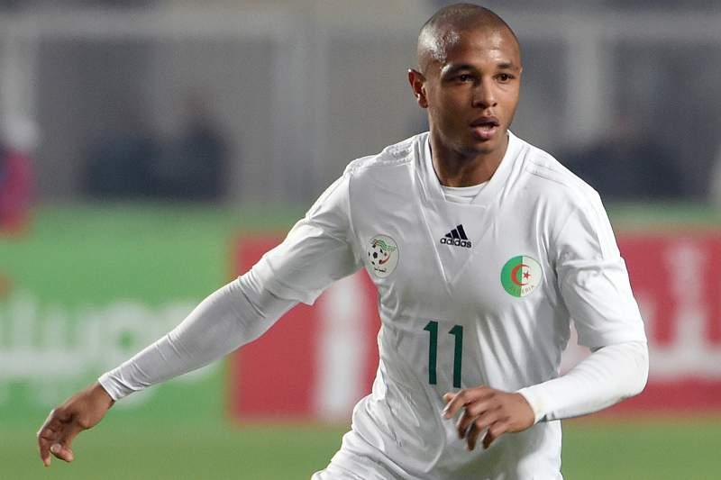 Brahimi na seleção da Argélia