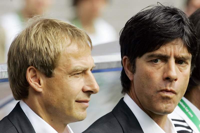 Joachim Löw e Jürgen Klinsmann