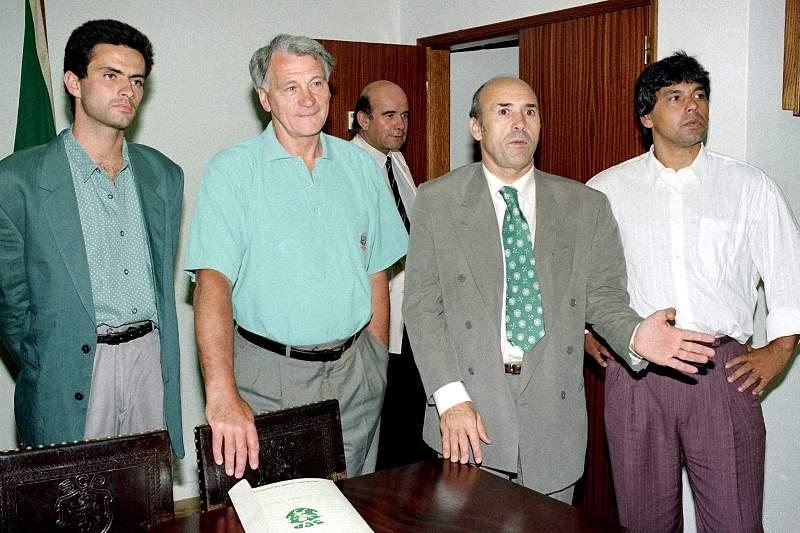 Equipa técnica do Sporting em 1992/1993
