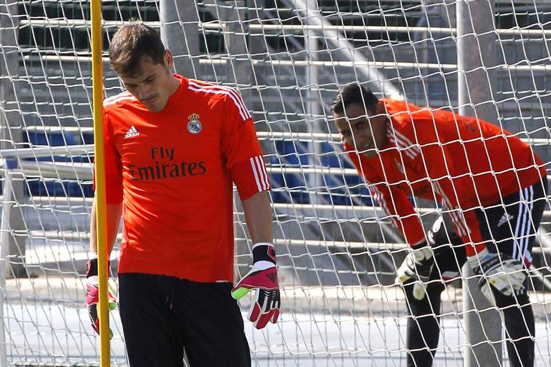Keylor Navas e Casillas