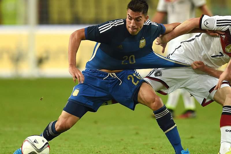Nico Gaitán ao serviço da Argentina