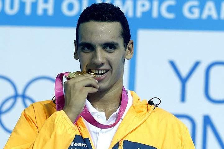 ahmed Akram, nadador egípcio