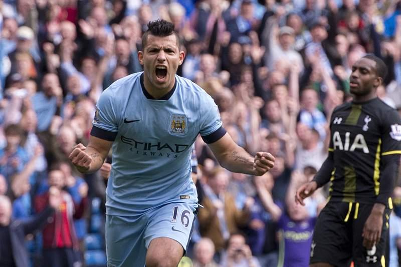 Manchester City vence Tottenham com quatro golos de