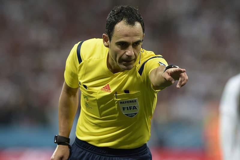 Velasco Carballo, árbitro espanhol