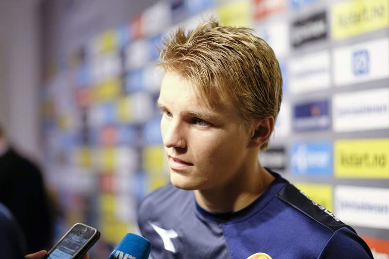 Odegaard oficializado no Real Madrid
