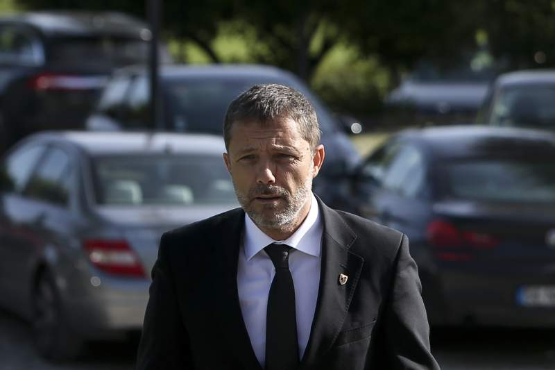 Júlio Mendes e Tiago Ribeiro