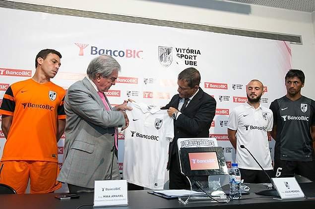 BIC patrocina o Vitória de Guimarães
