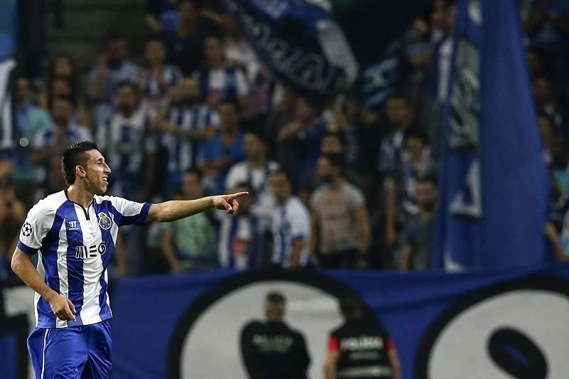 Herrera marcou o primeiro golo no Dragão