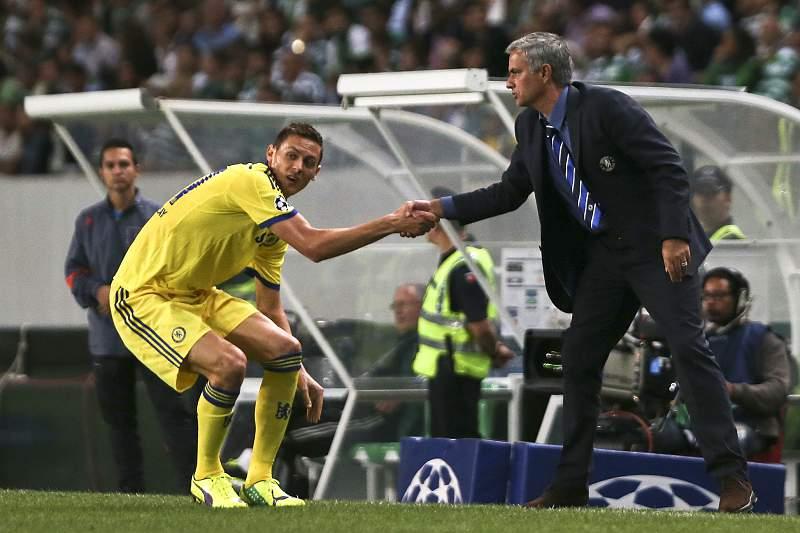 Matic e Mourinho