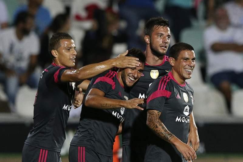Benfica vence no Bonfim