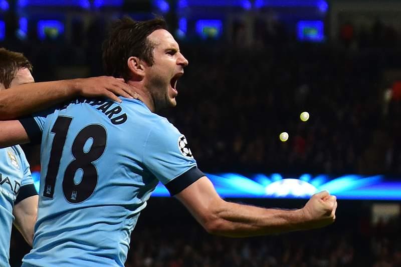 Frank Lampard tem estado em destaque no Manchester City