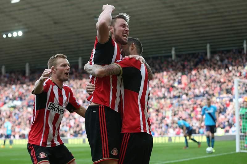 Connor Wickham festeja pelo Sunderland