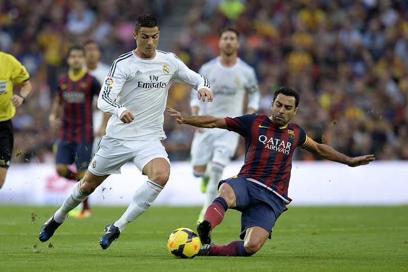 Ronaldo e Xavi