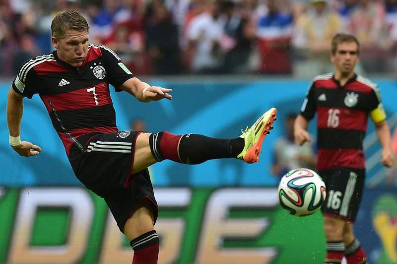 Schweinsteiger em ação