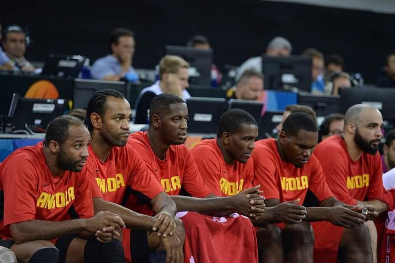 Seleção angolana de basquetebol fora dos Jogos Olímpicos