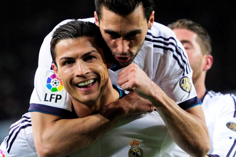 Ronaldo e Arbeloa