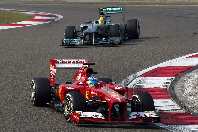 Alonso e Hamilton