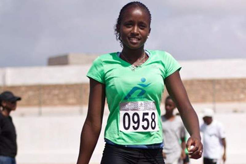 Lidiane Lopes, campeã dos 100 e 200 metros femininos