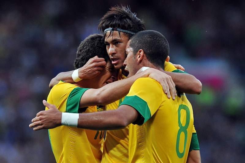 Selecção brasileira em Londres2012