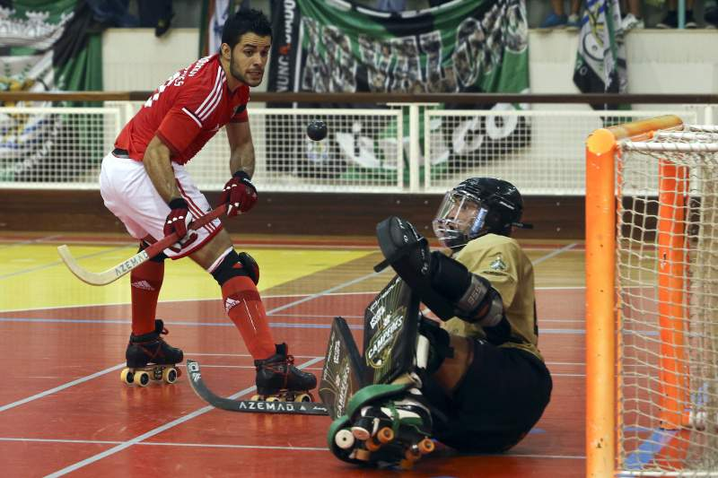 Benfica bate Sporting na abertura do campeonato de hóquei