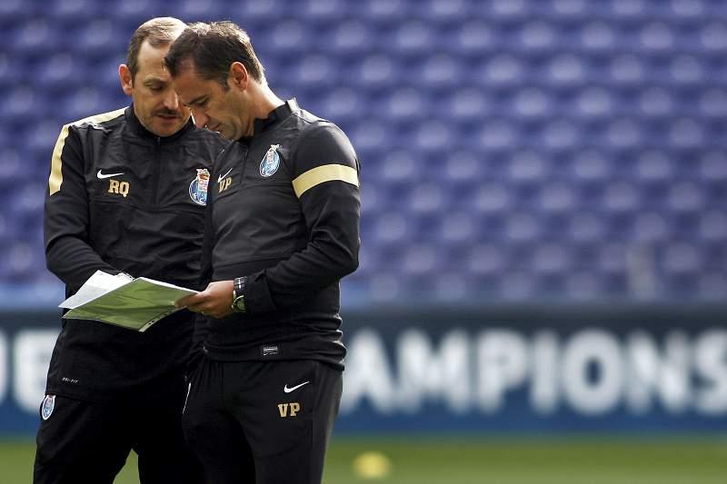 Rui Quinta foi adjunto de Vítor Pereira no FC Porto