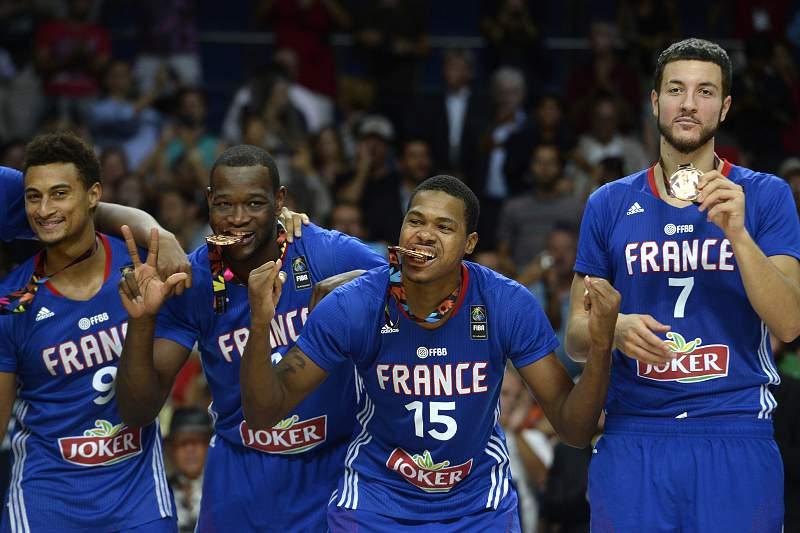 Seleção francesa de basquetebol