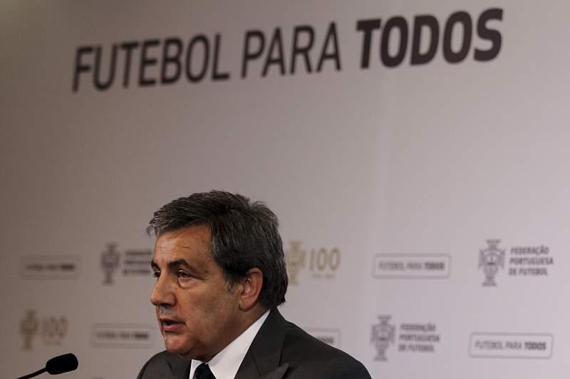 Fernando Gomes, presidente da Federação Portuguesa de Futebol (FPF)