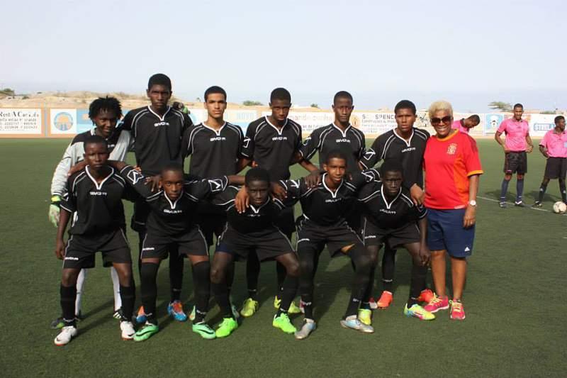 Bola pa Frente, campeão de Cabo Verde (Sub-17)