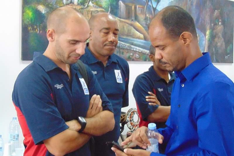 Treinador da seleção de andebol Cabo Verde