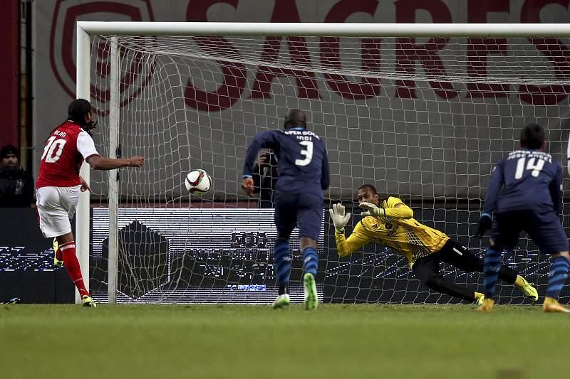 Alan falha penálti contra FC Porto